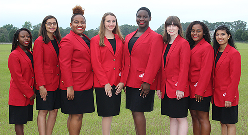 2017-2018 Georgia  FCCLA Region Officers