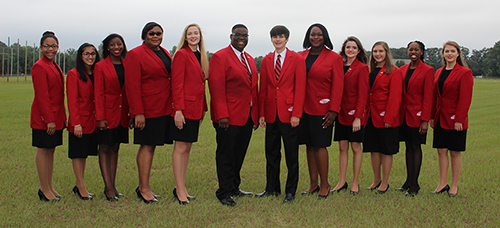 2017-2018 Georgia FCCLA State Officers