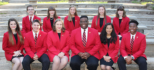 2018-2019 Georgia FCCLA State Officers