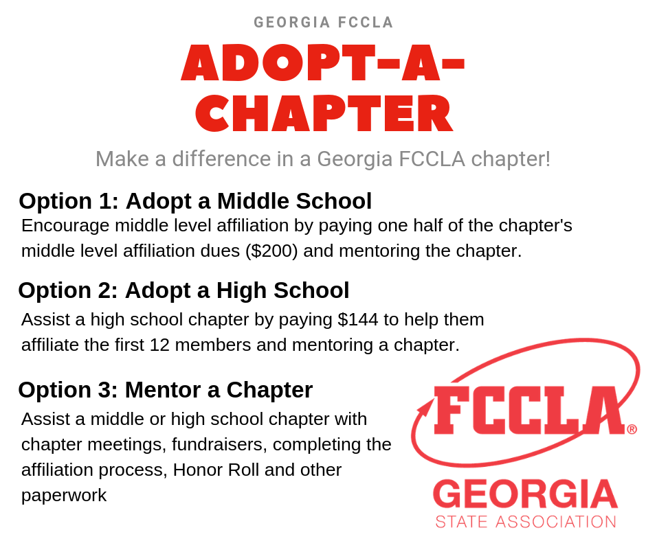 Adopt A Chapter