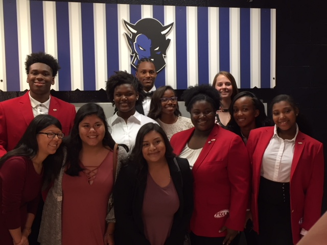 MHS FCCLA members celebrate new member and officer induction