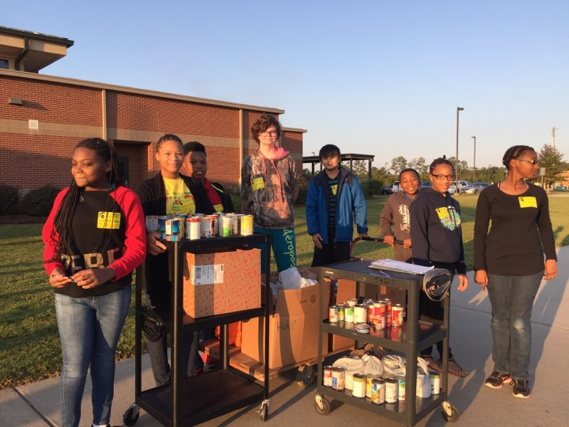 LMS Can Food Drive
