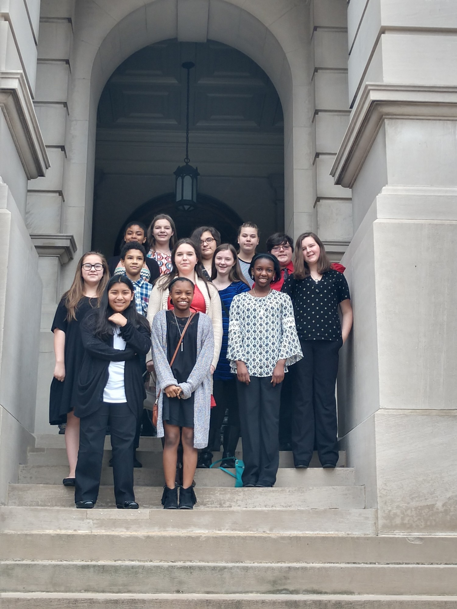 OCMS Students Attend Day at the Capitol