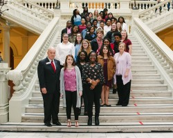 Bleckley County Attends Day at the Capitol