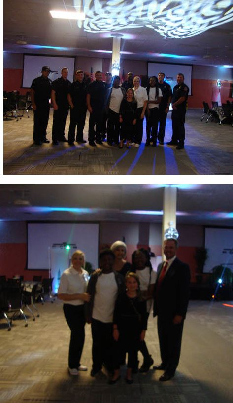 NMS Participates in First Responder's Ball
