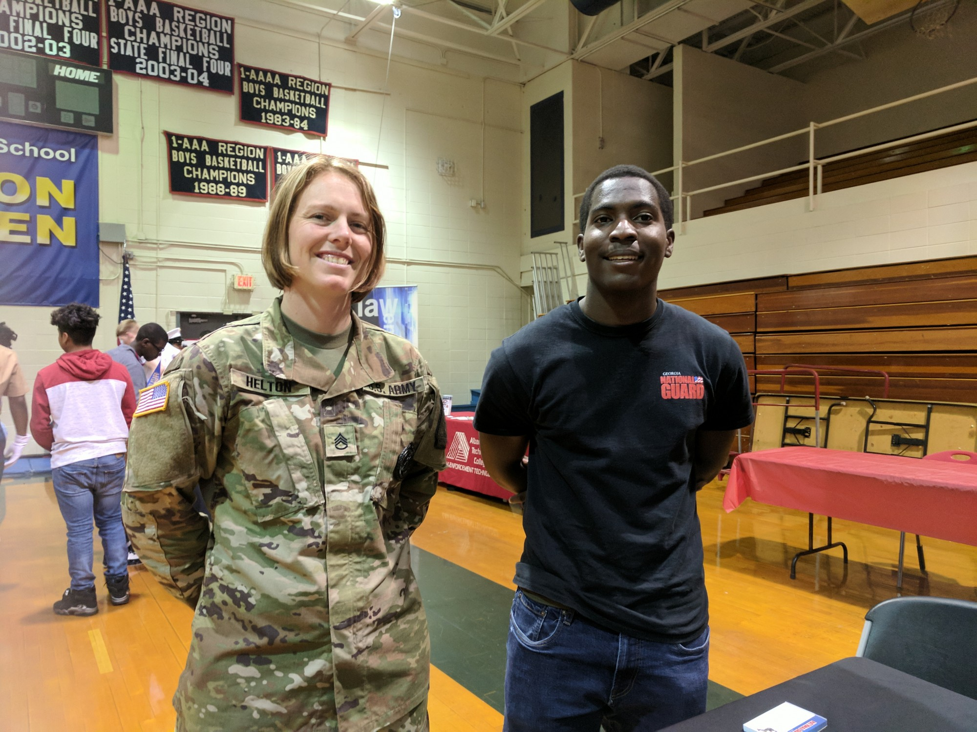 Westover's FCCLA Member Signs Up For the GA Army National Guard
