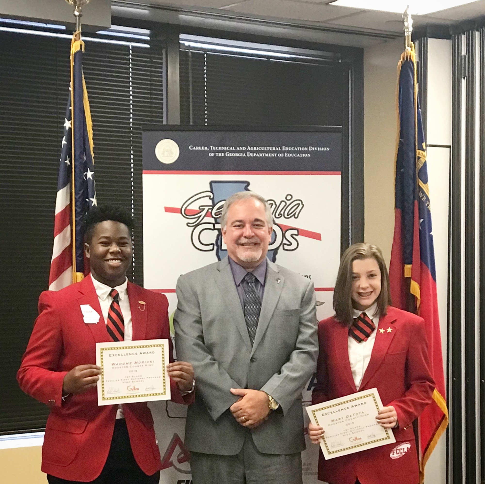Houston County High School Recognized for Leading in FCCLA