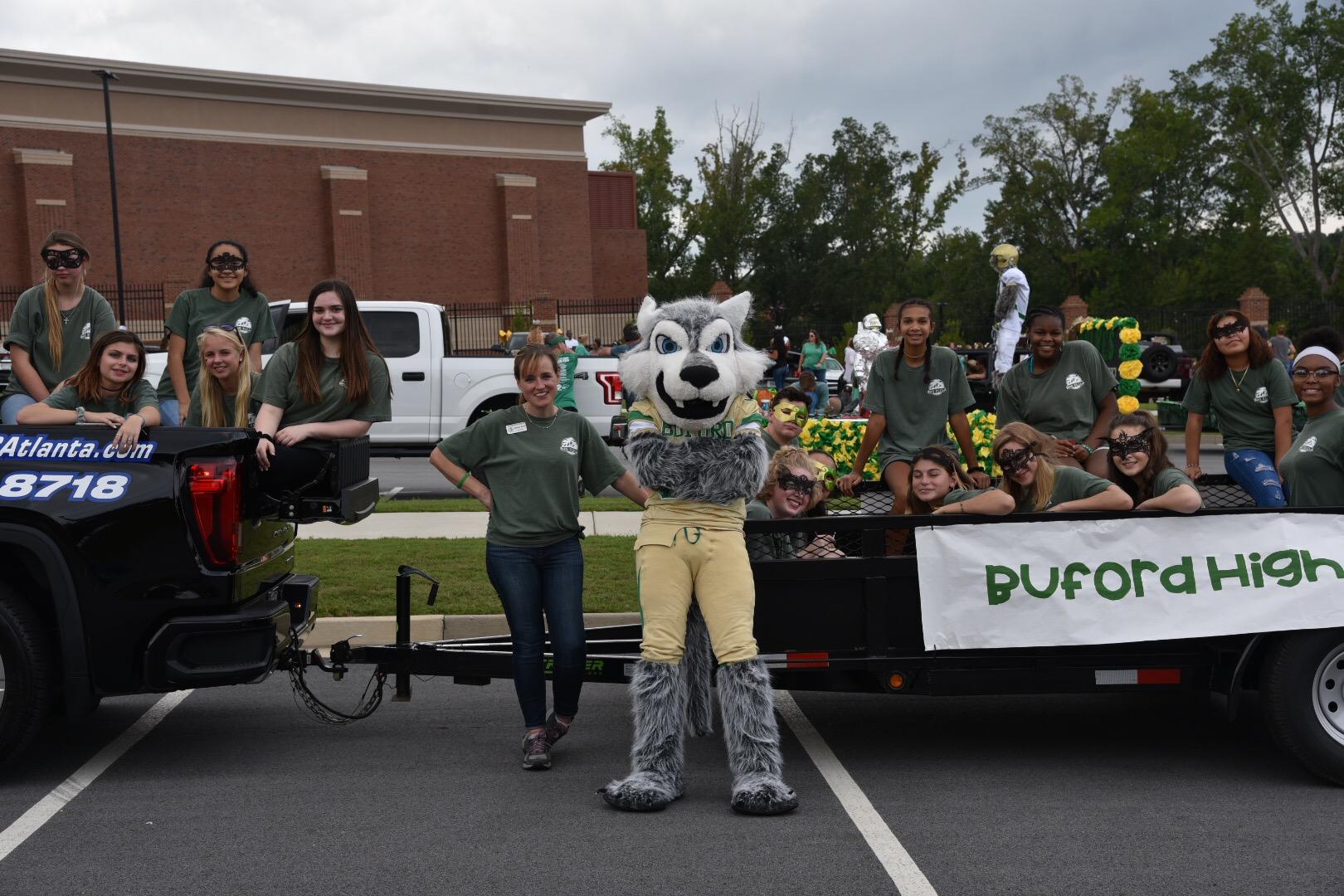 Buford Homecoming Parade