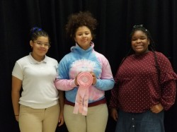 Forest Park Middle School Fall Rally Awards