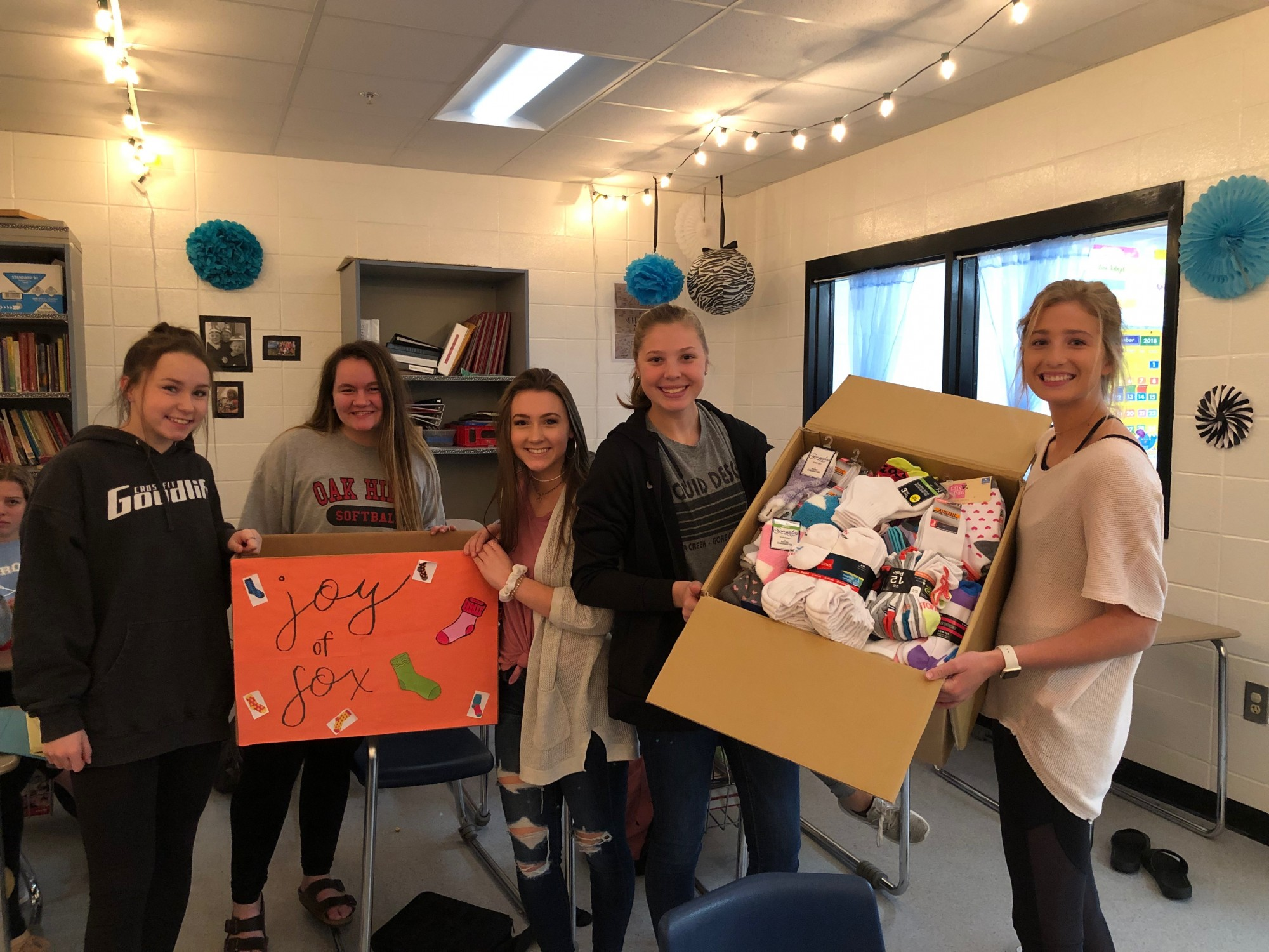 Starr's Mill High School Helps the Homeless