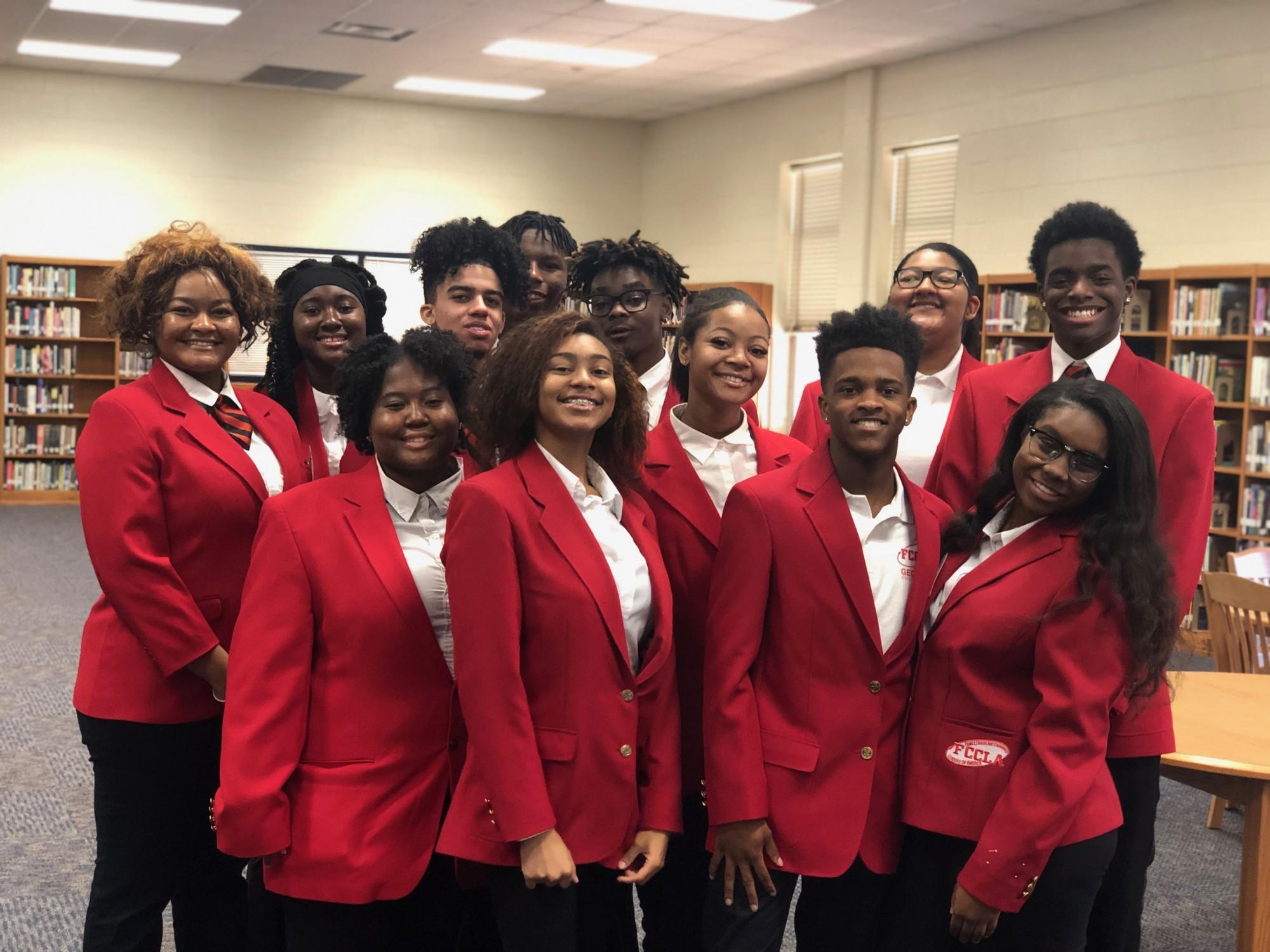 Cedar Grove Saints FCCLA Student Ambassadors