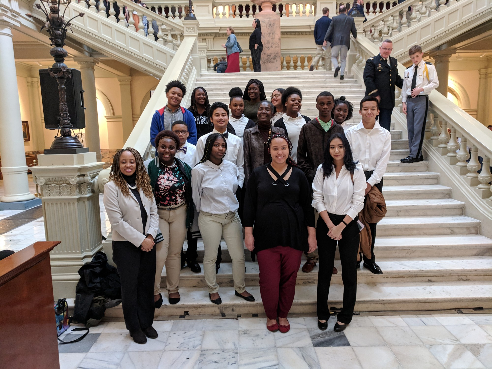 Westover Attends Day at the Capitol