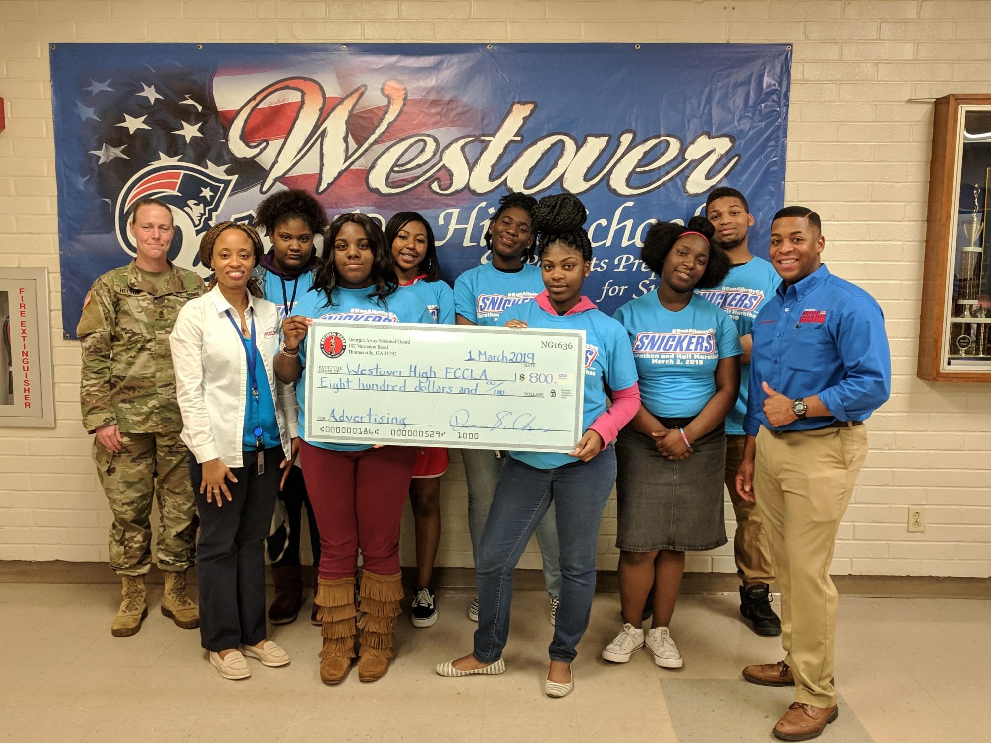 GA National Guard Supports FCCLA
