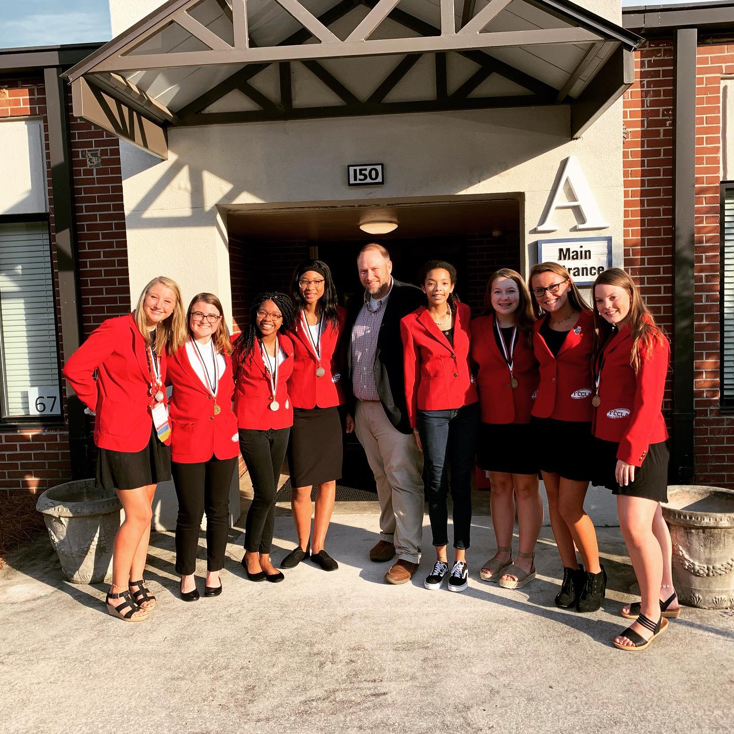 Statesboro High FCCLA Members Recognized at Board of Education Meeting