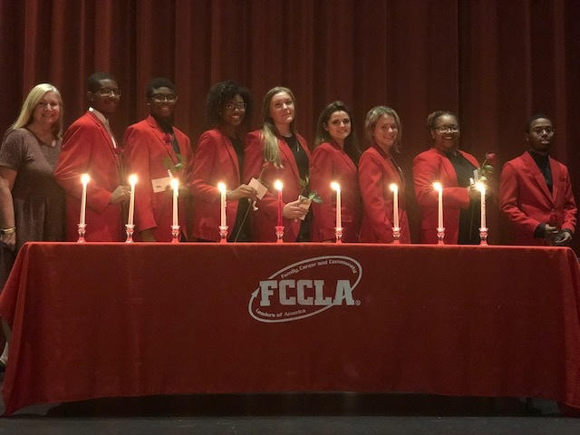 9 Gwinnett County Schools FCCLA Officers take Oath Office at Ceremony