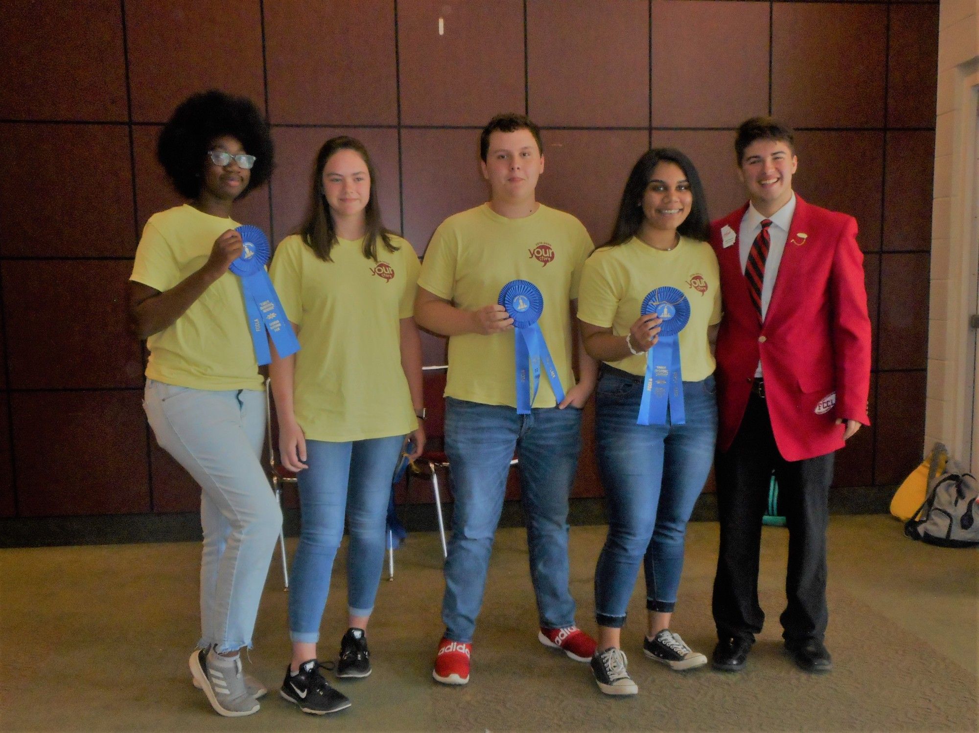 Perry High FCCLA Racks the Ribbons
