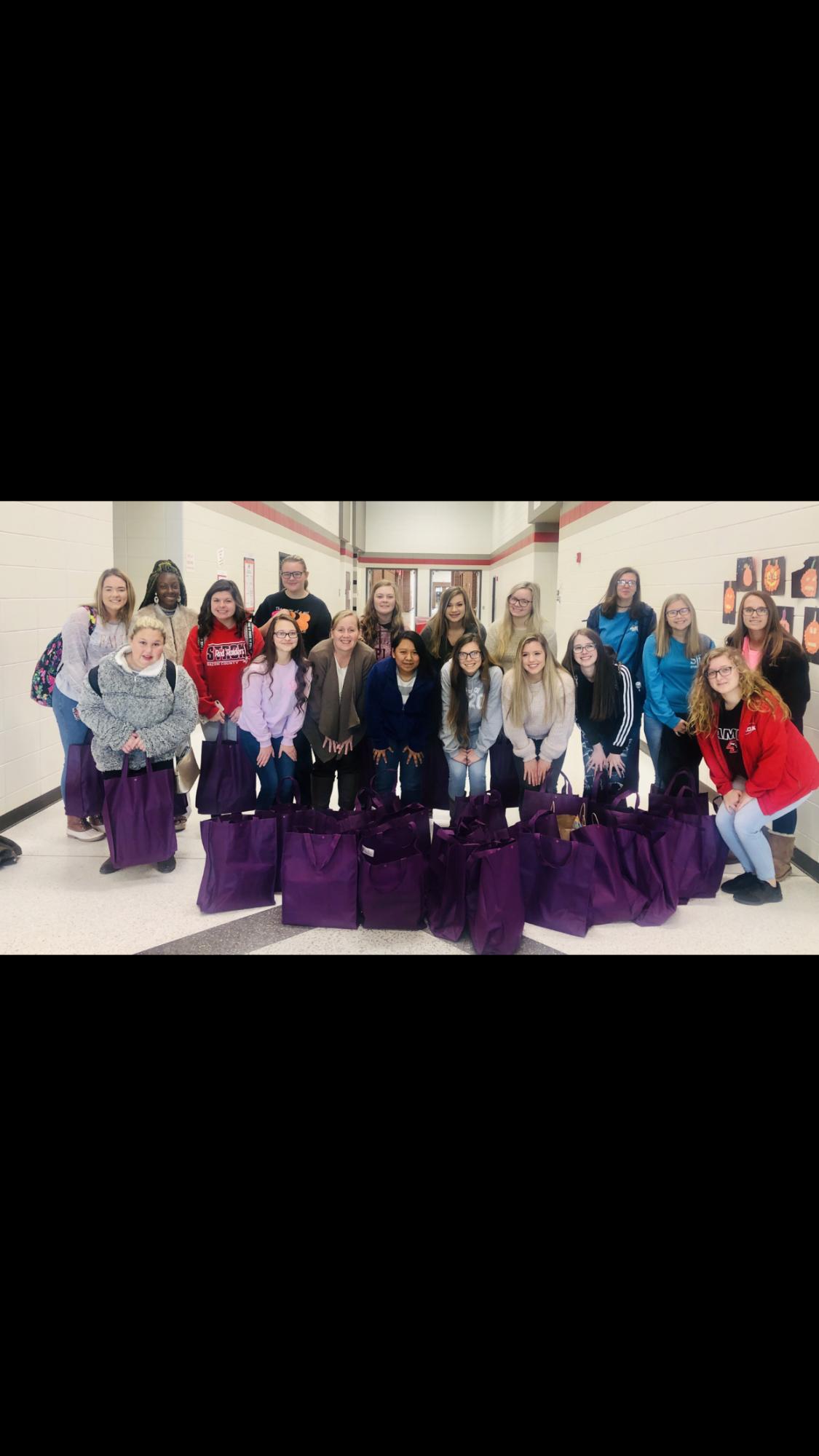 Purple Bag Challenge