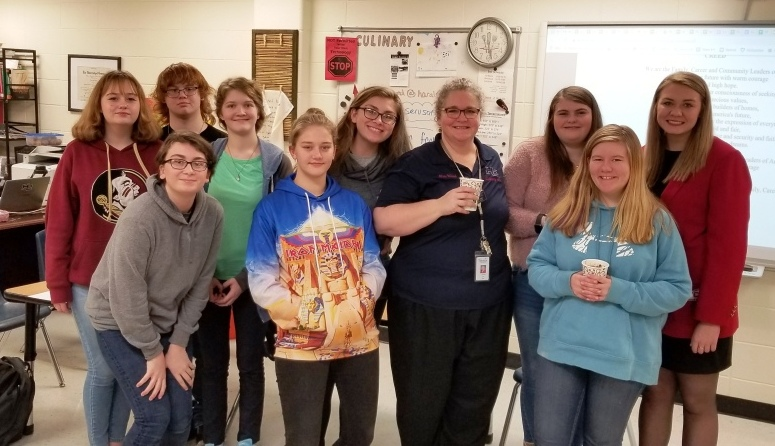 VP of Membership Visits Haralson County High School