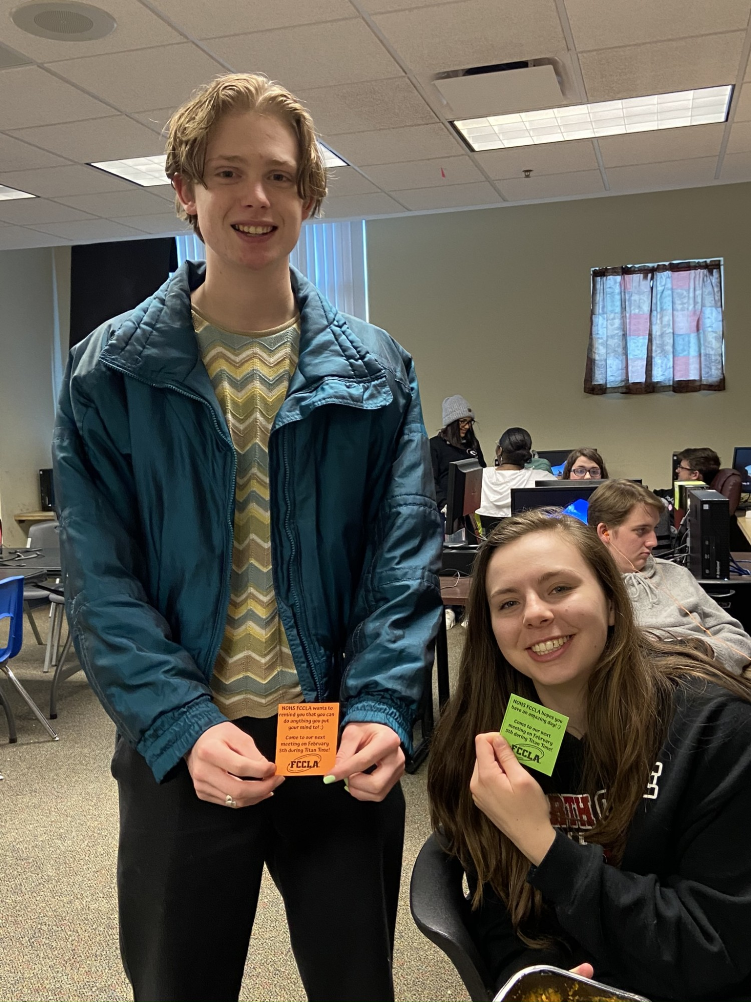 NOHS FCCLA Spreads Kindness Going into the Spring Semester