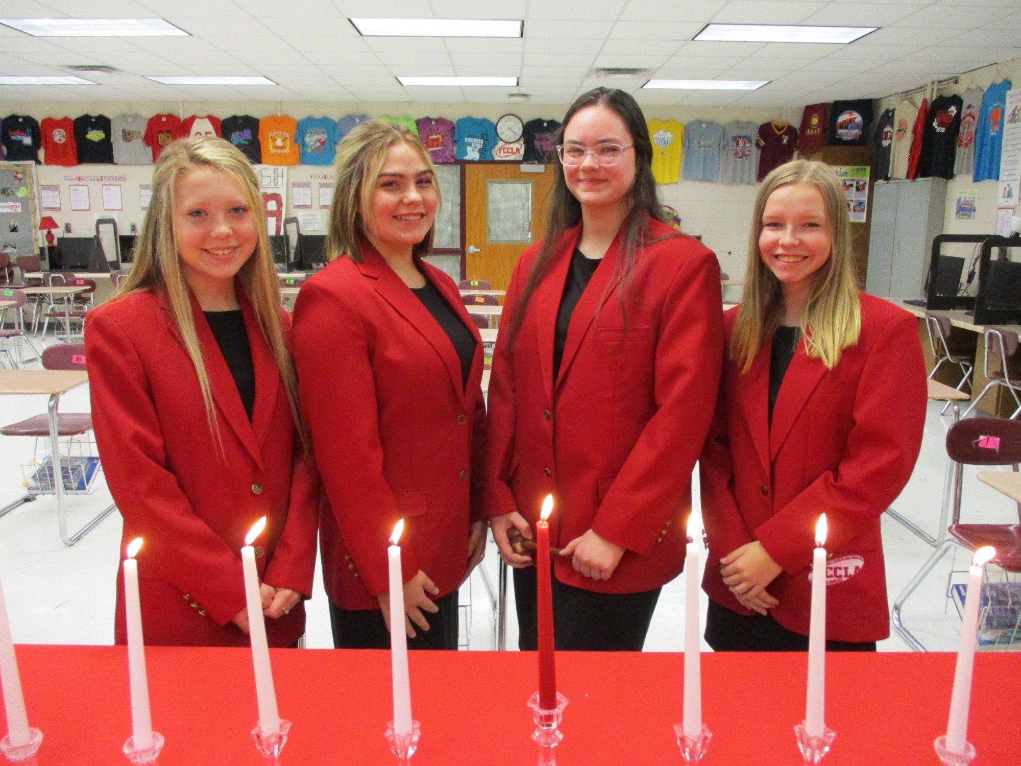 Perry High FCCLA holds local Officer Training and Installation Ceremony