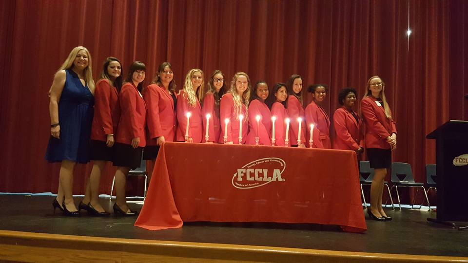 Archer FCCLA Hosts Gwinnett County Officer Induction Ceremony